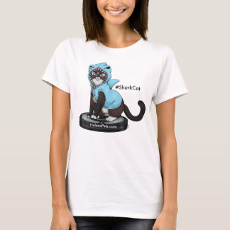 Shark Cat t-shirt Happy Shark Week from #SharkCat