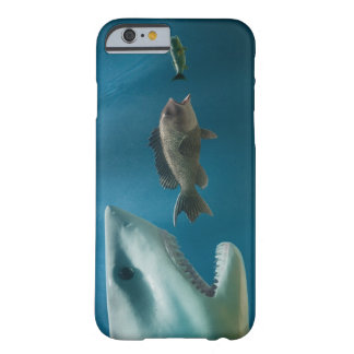Shark chasing sea bass chasing juvenile barely there iPhone 6 case
