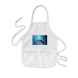 Shark Children's Apron