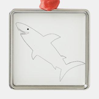 Shark! Christmas Ornament