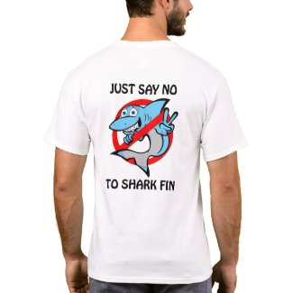 Shark conservation inspired t-shirt