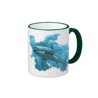 Shark Cruising The Depths Mug