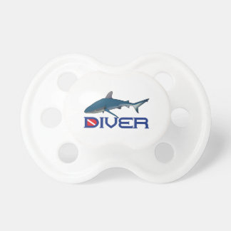 SHARK DIVER BABY PACIFIER