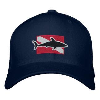 Shark Diver cap Embroidered Hat