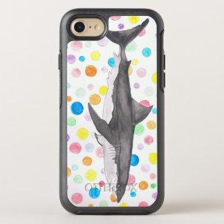Shark Dots OtterBox Symmetry iPhone 8/7 Case