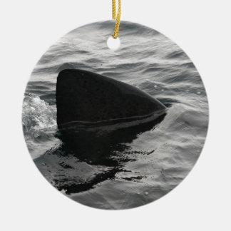 Shark Fin Christmas Ornament