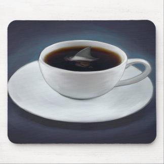 Shark Fin Coffee Mousepad