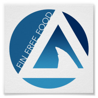 shark fin free food tricircles poster