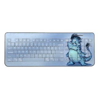 SHARK FISH ALIEN MONSTER Custom WirelessKeyboard 2 Wireless Keyboard