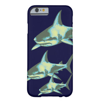 shark fish, wild animals barely there iPhone 6 case