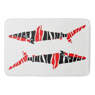 Shark Fish Zodiac Bath Mat