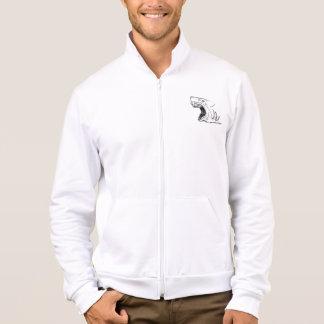 Shark Fleece Zip Jogger Jacket/Sweatshirt Printed Jackets