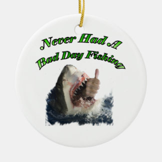 Shark hand christmas ornament