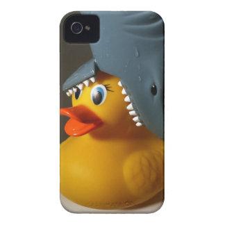 Shark Hat Rubber Duck iPhone 4 Case