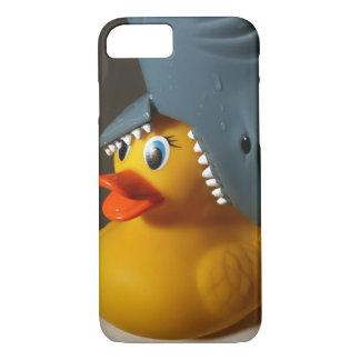 Shark Hat Rubber Duck iPhone 7 Case
