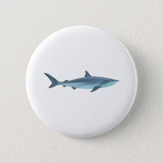 Shark Illustration 6 Cm Round Badge