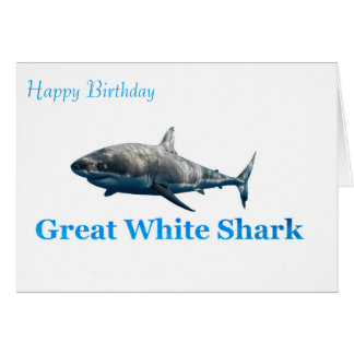 Shark image for birthday-greeting-card card