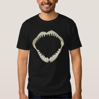 Shark jaws t shirts