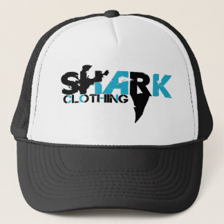 Shark Logo - Trucker Har Trucker Hat