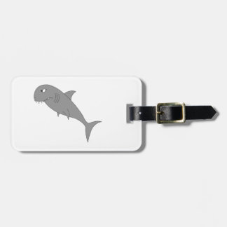 Shark. Luggage Tag