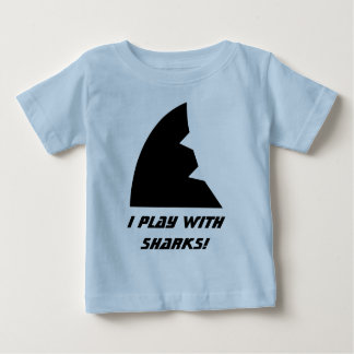 Shark Meeple baby shirt