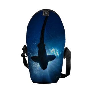 Shark - Mini Rickshaw Messenger Bag