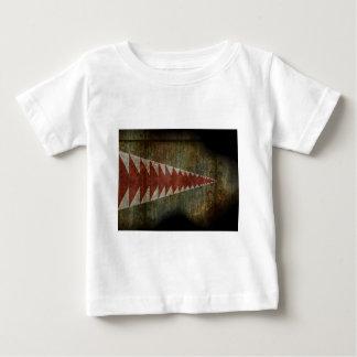 shark mouth texture tees