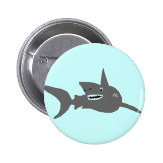 Shark on the prowl button