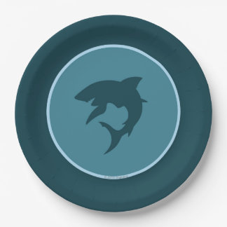 Shark Paper Plates 9 Inch Paper Plate