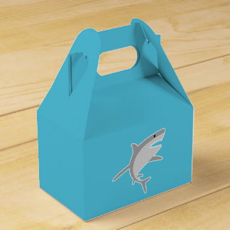 Shark Party Favor Boxes Favour Box