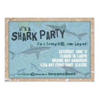Shark Party Invitation