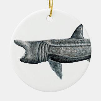 Shark pilgrim christmas ornament