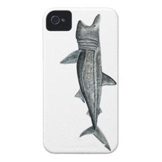Shark pilgrim iPhone 4 Case-Mate cases