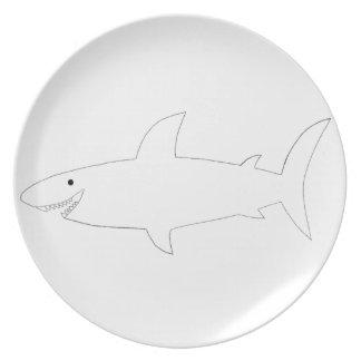 Shark! Plate