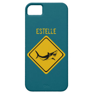 shark road sign iPhone 5 cases