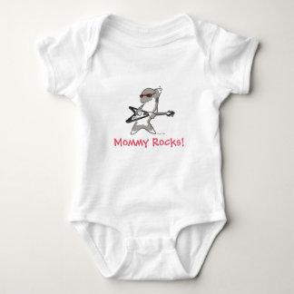 Shark Rock Star pt.2 Baby Bodysuit