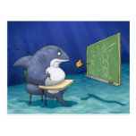 Shark School Postcard