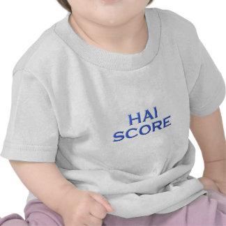 Shark score tee shirts