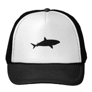 Shark Silhouette Cap