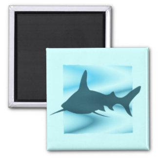 Shark silhouette Magnet