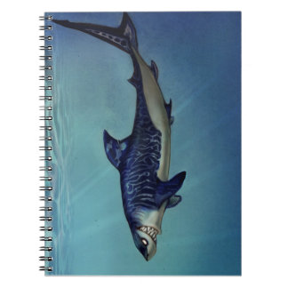 Shark sketchbook spiral notebook