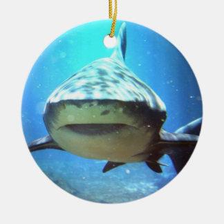 Shark Swimming Ornament