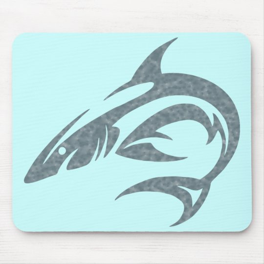 Shark Tattoo Mouse Mat