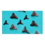 Shark Teeth Business Card Template