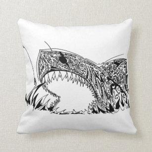 42256dd3718f shark cushion cover tribal throw low priced 73f4a 5d11c - arshsazan.com