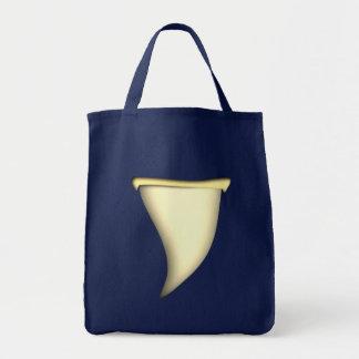 shark tooth shark tooth tote bag