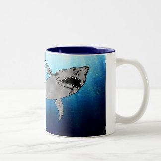 Shark Two-Tone Coffee Mug