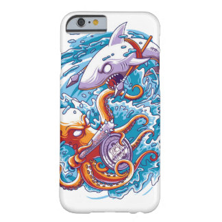 Shark vs giant octopus barely there iPhone 6 case