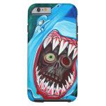 Shark Vs Zombie iPhone 6 Case