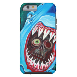 Shark Vs Zombie Tough iPhone 6 Case